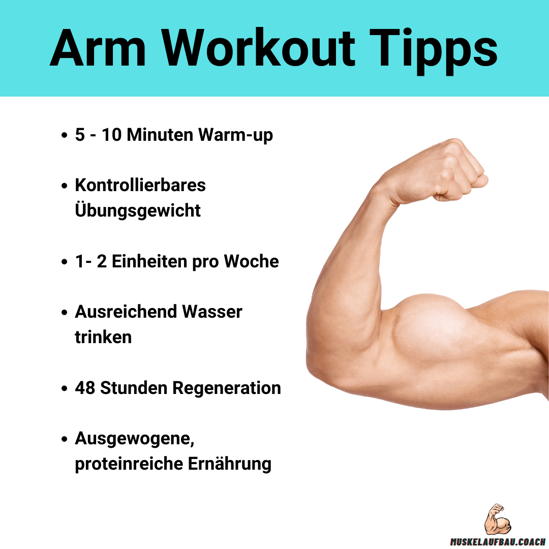 Arm Workout Tipps