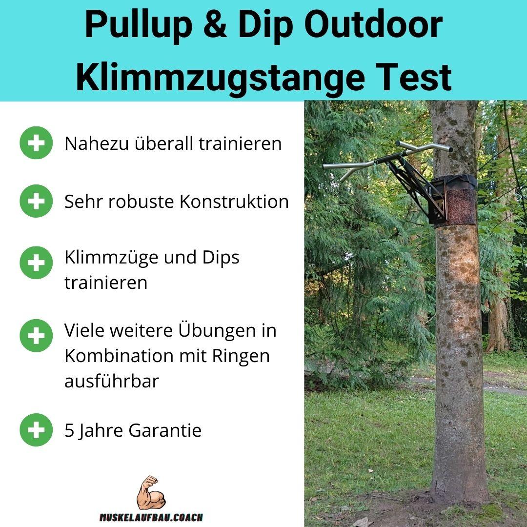 Pullup Dip Outdoor Klimmzugstange Fazit